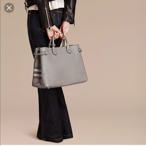 Burberry Large Banner Tote